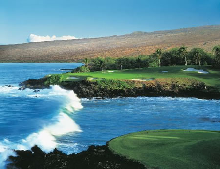 Hapuna Golf Course at the Mauna Kea Resort - Hawaii Golf Courses